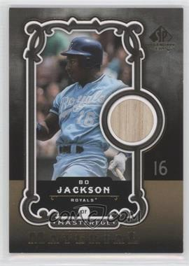 2007 SP Legendary Cuts Masterful Material #MM-BJ - Bo Jackson