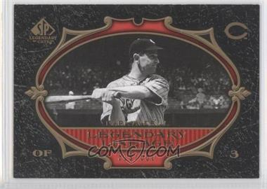 2007 SP Legendary Cuts #116 - Earl Averill /550