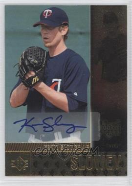 2007 SP Rookie Edition Autographs [Autographed] #105 - Kevin Slowey
