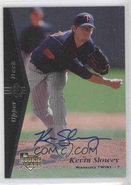 2007 SP Rookie Edition Autographs [Autographed] #147 - Kevin Slowey