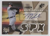 Rookie Signatures - Troy Tulowitzki