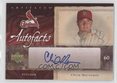 2007 SPx Artifacts Autofacts Preview #AU-CN - Chris Narveson