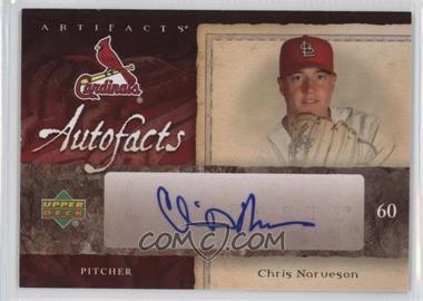 2007 SPx Artifacts Autofacts Preview #AU-CN - Chris Narveson