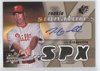 Rookie Signatures - Tim Gradoville