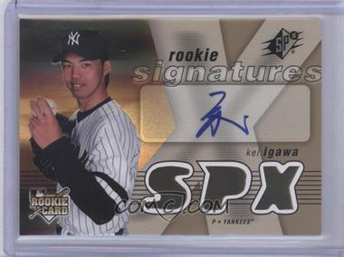 2007 SPx #127 - Rookie Signatures - Kei Igawa