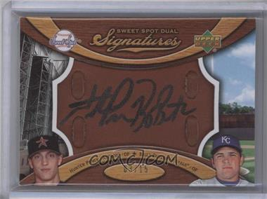 2007 Sweet Spot [???] #SS2-2 - Hunter Pence, Billy Butler /15