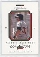 Preston Mattingly /250