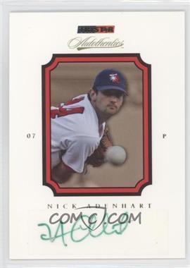 2007 TRISTAR Autothentics Autographs [Autographed] #4 - Nick Adenhart
