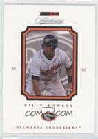 Billy Rowell /50