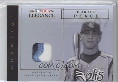 2007 TRISTAR Elegance - Showtime - Game-Worn Parallel Patch #ST-HP - Hunter Pence /25