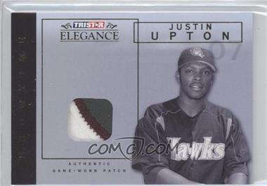 2007 TRISTAR Elegance - Showtime - Game-Worn Parallel Patch #ST-JU - Justin Upton /25