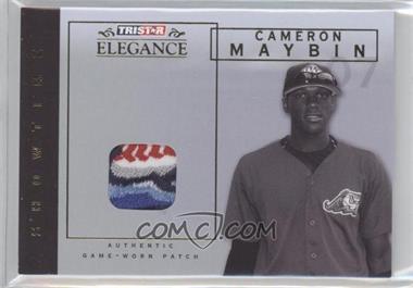 2007 TRISTAR Elegance - Showtime - Game-Worn Patch #ST-CM - Cameron Maybin