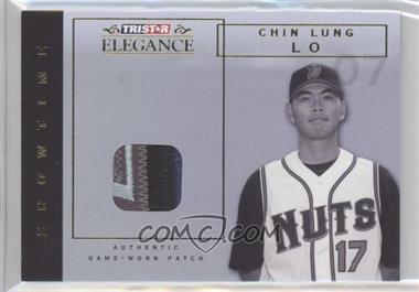 2007 TRISTAR Elegance Showtime Game-Worn Parallel Patch #ST-CLL - Ching-Lung Lo /25