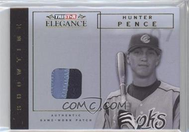 2007 TRISTAR Elegance Showtime Game-Worn Parallel Patch #ST-HP - Hunter Pence /25