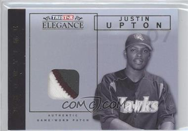 2007 TRISTAR Elegance Showtime Game-Worn Parallel Patch #ST-JU - Justin Upton /25