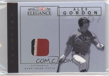 2007 TRISTAR Elegance Showtime Game-Worn Patch #ST-AG - Alex Gordon