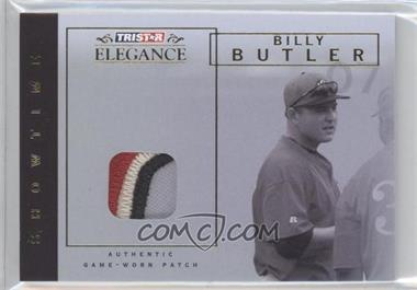 2007 TRISTAR Elegance Showtime Game-Worn Patch #ST-BB - Billy Butler