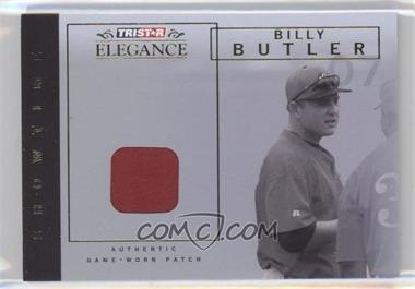 2007 TRISTAR Elegance Showtime Game-Worn Patch #ST-BB - Billy Butler