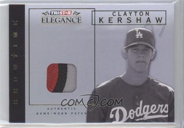 2007 TRISTAR Elegance Showtime Game-Worn Patch #ST-CK - Clayton Kershaw