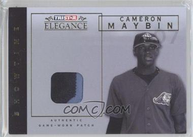 2007 TRISTAR Elegance Showtime Game-Worn Patch #ST-CM - Cameron Maybin