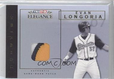 2007 TRISTAR Elegance Showtime Game-Worn Patch #ST-EL - Evan Longoria