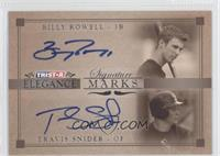 Travis Snider, Billy Rowell /25