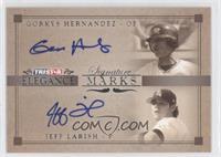 Jeff Larish, Gorkys Hernandez /25