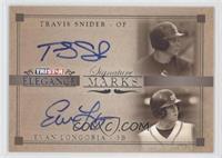 Travis Snider, Evan Longoria /25