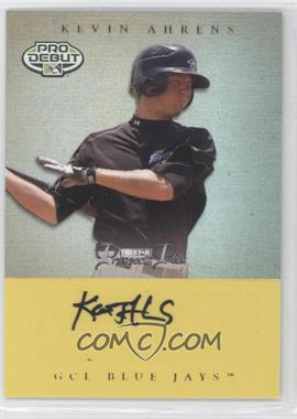 2007 TRISTAR Prospects Plus - [Base] - Yellow #42 - Kevin Ahrens /25
