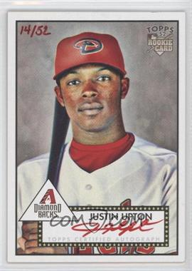 2007 Topps '52 Signatures Special Edition #52S-JU - Justin Upton /52