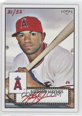 2007 Topps '52 Signatures Special Edition #52S-NH - Nathan Haynes /52