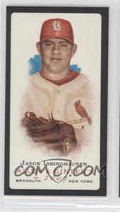 2007 Topps Allen & Ginter's Mini Black Border No Number Back #JAIS - Jason Isringhausen
