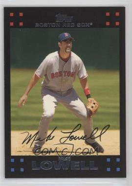2007 Topps Boston Red Sox - [Base] #BOS11 - Mike Lowell