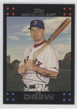 2007 Topps Boston Red Sox - [Base] #BOS9 - J.D. Drew
