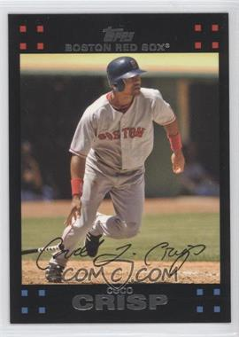 2007 Topps Boston Red Sox #BOS10 - Coco Crisp