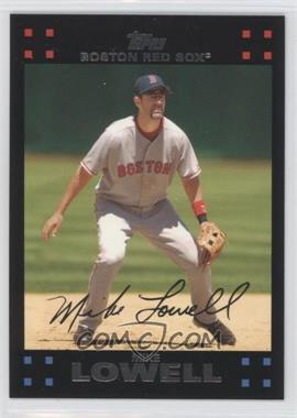 2007 Topps Boston Red Sox #BOS11 - Mike Lowell