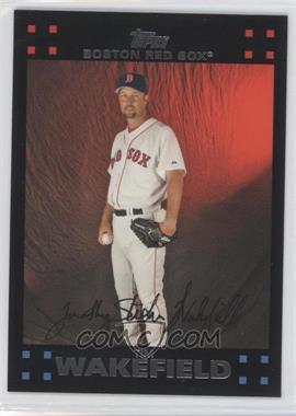 2007 Topps Boston Red Sox #BOS12 - Tim Wakefield