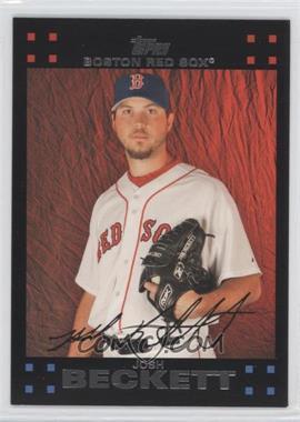 2007 Topps Boston Red Sox #BOS13 - Josh Beckett