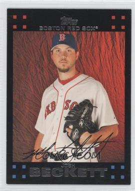 2007 Topps Boston Red Sox #BOS13 - Josh Beckett