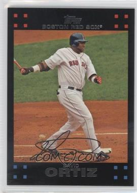 2007 Topps Boston Red Sox #BOS14 - David Ortiz