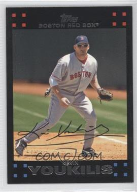 2007 Topps Boston Red Sox #BOS7 - Kevin Youkilis