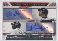 Bill Hall, J.J. Hardy