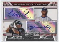 Chris Iannetta, Matt Kemp
