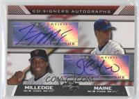 John Maine, Lastings Milledge