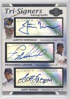 Justin Morneau, Francisco Liriano, Matt Garza