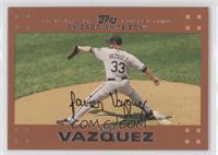 Javier Vazquez /56