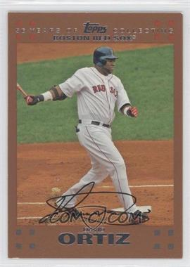 2007 Topps Copper #360 - David Ortiz /56