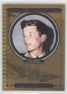 2007 Topps Distinguished Service #DS29 - John F. Kennedy