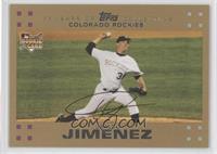 Ubaldo Jimenez /2007