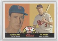 Ted Williams, Joe Mauer